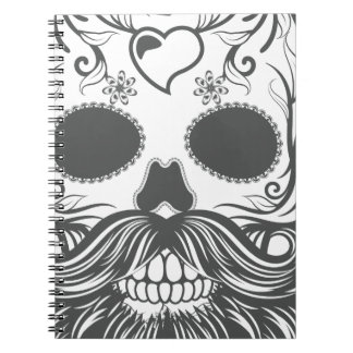Hipster to sugar skull 2 notebooks