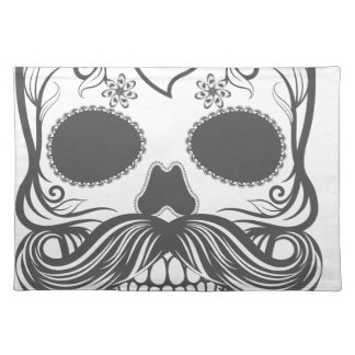 Hipster to sugar skull 2 placemat