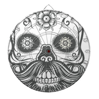 Hipster to sugar skull 3 dartboard