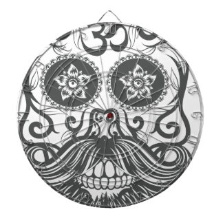 Hipster to sugar skull 4 dartboard