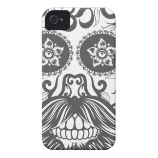 Hipster to sugar skull 4 iPhone 4 cover
