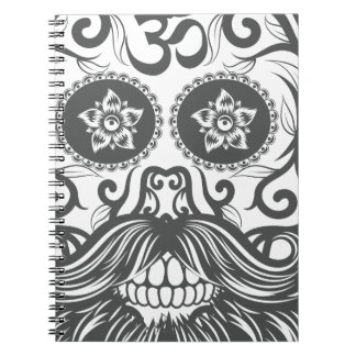 Hipster to sugar skull 4 notebooks