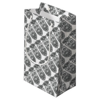 Hipster to sugar skull 4 small gift bag