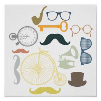 Hipster Toolkit Poster