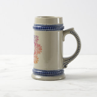 Hipster Zebra Style Animal Beer Stein