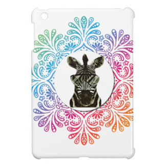 Hipster Zebra Style Animal Case For The iPad Mini