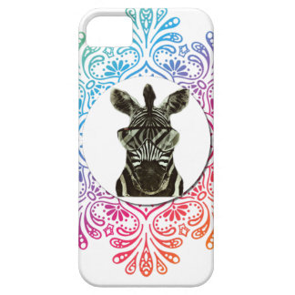 Hipster Zebra Style Animal Case For The iPhone 5