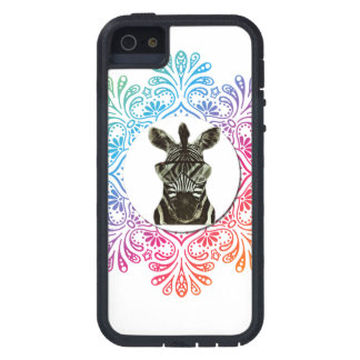 Hipster Zebra Style Animal Cover For iPhone 5