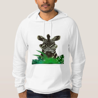Hipster Zebra Style Animal Hoodie