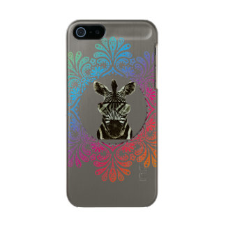 Hipster Zebra Style Animal Incipio Feather® Shine iPhone 5 Case