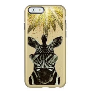 Hipster Zebra Style Animal Incipio Feather® Shine iPhone 6 Case