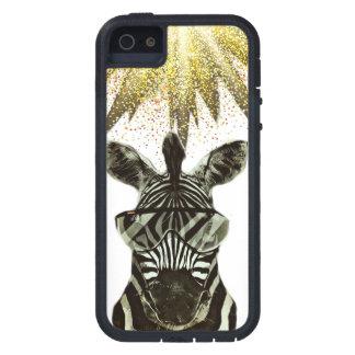 Hipster Zebra Style Animal iPhone 5 Case