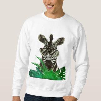 Hipster Zebra Style Animal Sweatshirt