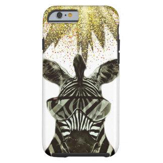 Hipster Zebra Style Animal Tough iPhone 6 Case