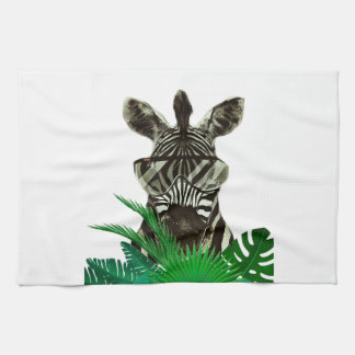 Hipster Zebra Style Animal Towel