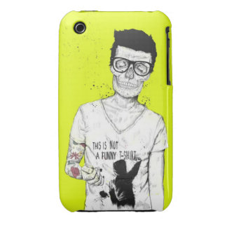 hipsters not dead iPhone 3 cases