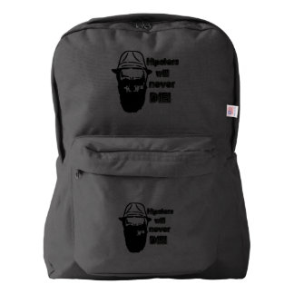 Hipsters will never die! backpack