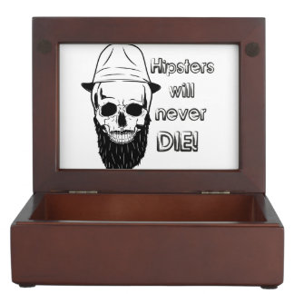 Hipsters will never die! memory box