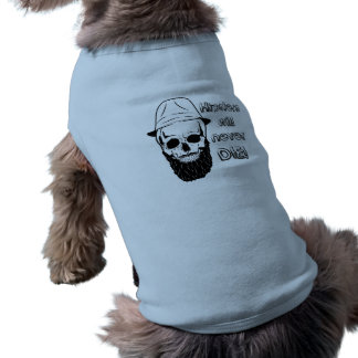 Hipsters will never die! sleeveless dog shirt