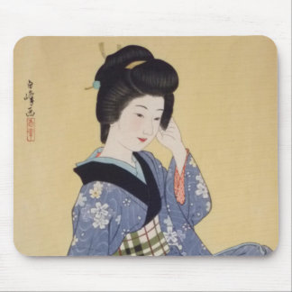 Hirano Hakuho's Young Girl Mouse Pad
