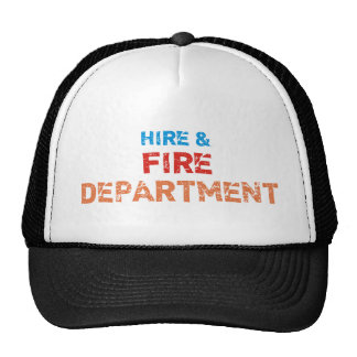 hire fire department hat