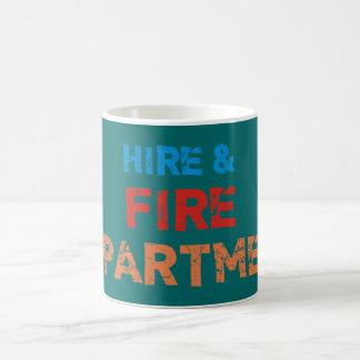 hire fire department coffee mug