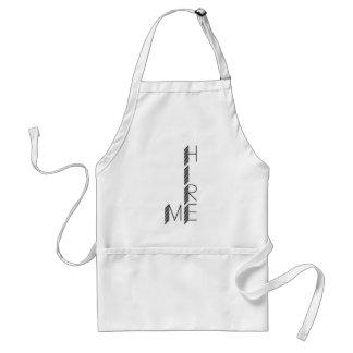 hire me standard apron