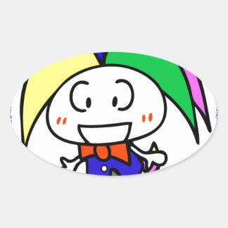 hiro oval sticker
