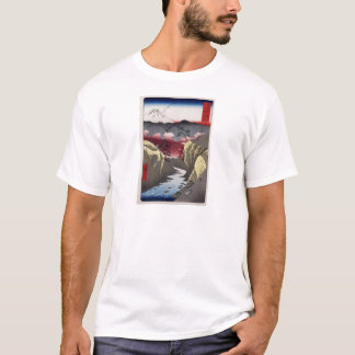 Hiroshige Inume Pass in Kai Province T-Shirt