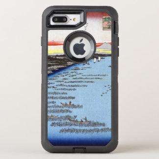 Hiroshige Minami-Shinagawa and Samezu Coast OtterBox Defender iPhone 8 Plus/7 Plus Case