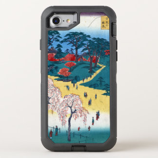Hiroshige Temple Gardens, Nippori OtterBox Defender iPhone 8/7 Case