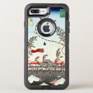 Hiroshige The City Flourishing, Tanabata Festival OtterBox Defender iPhone 8 Plus/7 Plus Case