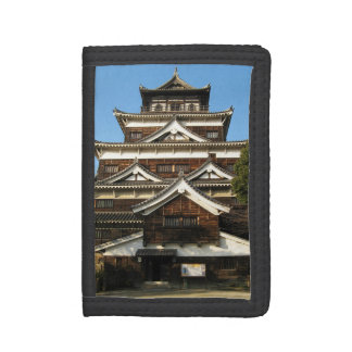 Hiroshima Castle 広島城, Hiroshima, Japan Trifold Wallet