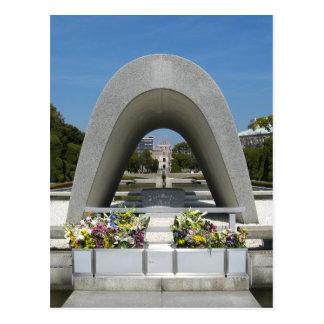 Hiroshima Memorial Cenotaph Postcard