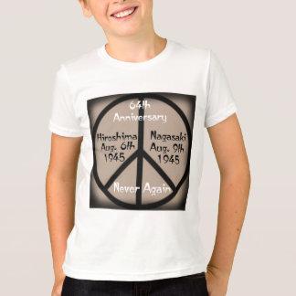 Hiroshima-Nagasaki Peace In Our Time T-Shirt