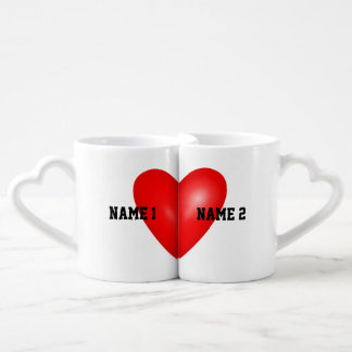 His and Hers Lovers Coffee Mug Set