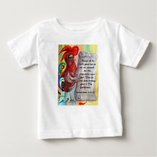 His Compassions are New Every Morning Baby T-Shirt