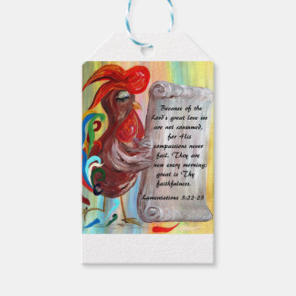 His Compassions are New Every Morning Gift Tags