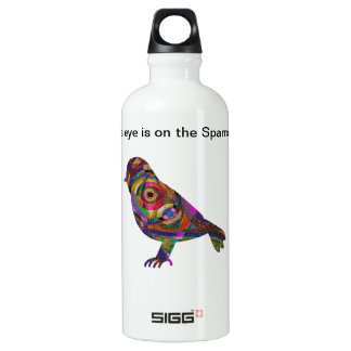 His eye is on the Sparrow Water Bottle
