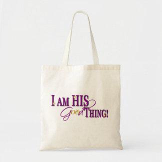 His Good Thing (Purple) Tote Bag