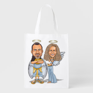 HIS & HER ANGELS reusable bag