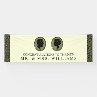 His & Hers Art Deco Silhouette Wedding Collection