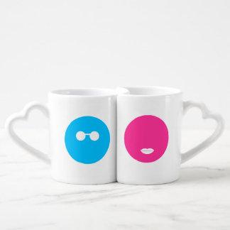 His & Hers Family Fruit Coffee Mug Set