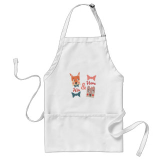 His & Hers Standard Apron