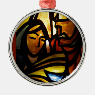 his name shall be emmanuel metal ornament
