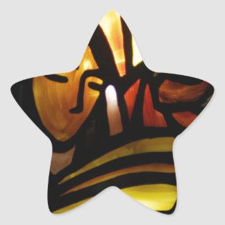 his name shall be emmanuel star sticker