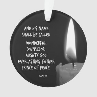 HIs name shall be Prince of Peace Bible Verse