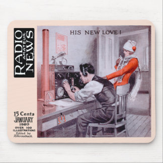 """His New Love"" Mouse Pad"
