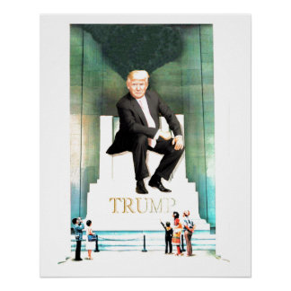 His Royal Fakeness, Donald Trump Poster