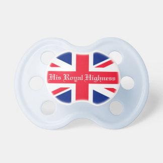His Royal Highness Royal Baby Dummy